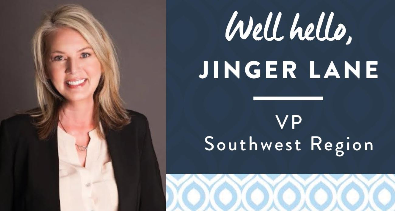 Jinger Lane, New Vice President: Southwest
